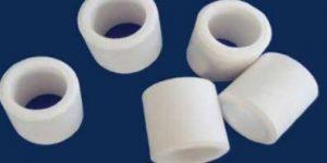 Inert alumina craschig ring catalyst support